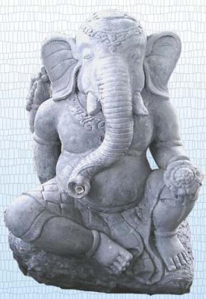 Ganesha mit Flasche